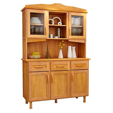 mueble kit cocina en madera pino maciza  puertas alacena