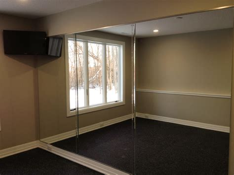 Home Mirror : Mirror Wall In Home Gym-other Metro-by Ford Metro Inc
