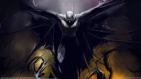 batman wings digital art fantasy desktop wallpaper hd