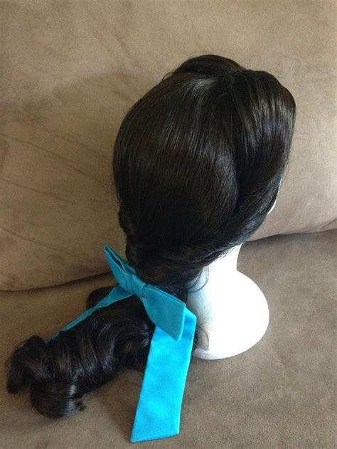 Peasant Belle Beauty and the Beast Hairstyle