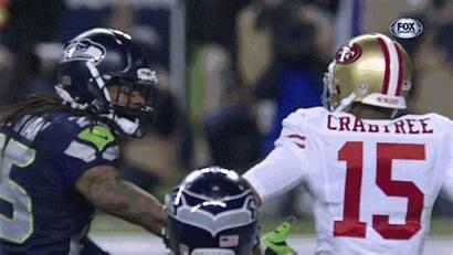 Sherman Richard Seahawks Nfl 49ers Giphy Vs