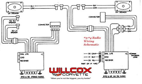 1984 Corvette Radio Wiring Diagram by 1973 1974 Corvette Radio Wiring Schematic Willcox