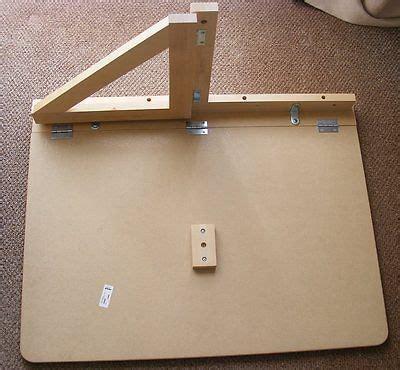 norbo wall mounted drop leaf table  workings  diy