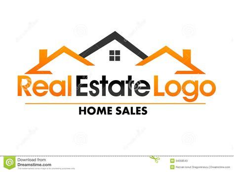 Real Estate Logo Stock Illustration Illustration Of