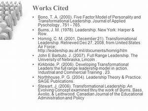 Transformational Leadership - ppt video online download