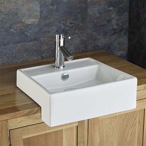 gandra countertop surface mounted sink basin semi