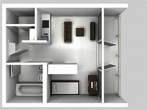 1 Zimmer Wohnung Einrichten Bilder : 1 5 zimmer wohnung 38 qm uwe urlaub immobilien entwicklung ~ Bigdaddyawards.com Haus und Dekorationen