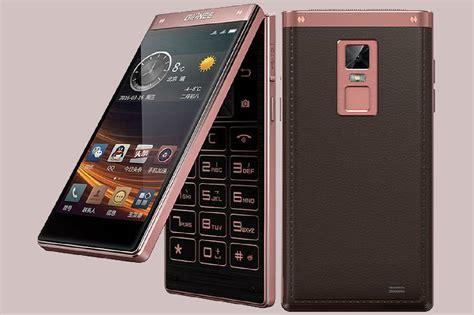 handphone philips gionee shows that flip phones aren 39 t dead with the w909