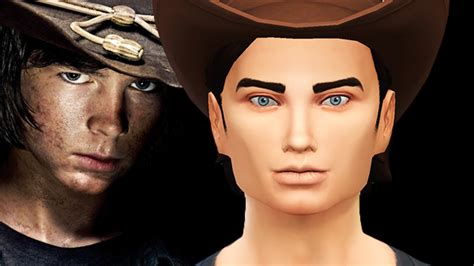 Mod The Sims  The Grimes Family From The Walking Dead