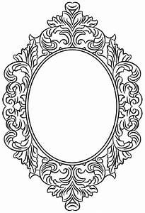 Antique Mirror Frame Drawing | www.pixshark.com - Images ...