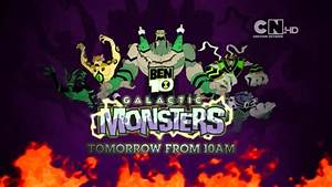 Cartoon Network UK HD Ben 10: Omniverse Galactic Monsters ...