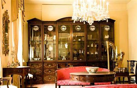victorian furniture features ornate  decorative motifs