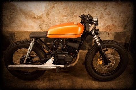 Bike Modification Accessories In Mumbai by Yamaha Rx135 Modified Cafe Racer By Bombay Custom Works