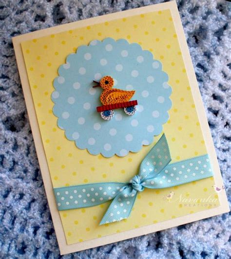 baby shower card baby boy  card handmade greeting card