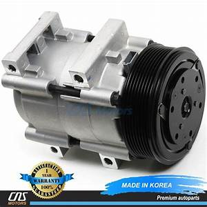 New Ac Compressor W   Clutch 58161 Fs10 89