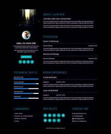 creative resume template for ux designer free sles