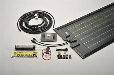 Marine Off Grid Solar Panel Kit