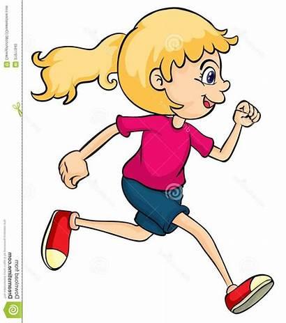 Clipart Running Runner Cartoon Clip Person Plants