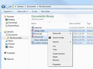 send to kindle for easy transfer of pc documents and With kindle documents cloud