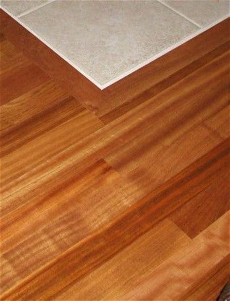 hardwood tile transition for the home