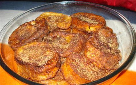 cuisine portugaise facile recette rabanadas perdu à la portugaise