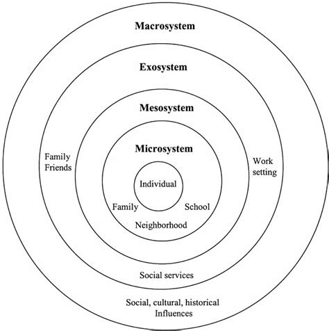 Psychology Career Diagram Of Sphere by Bronfenbrenner S Ecological Systems Theory Bronfenbrenner