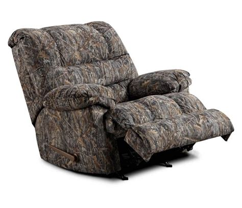 rural king recliners simmons camouflage microfiber rocker recliner by united