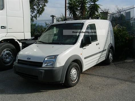 Ford Connect T200lx 2006 Box-type Delivery Van Photo And Specs
