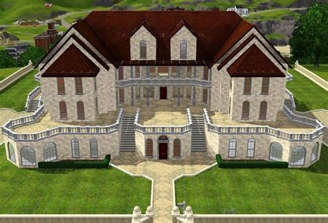 The Sims House Floor Plans