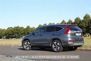Nouveau Honda Cr V : essai nouveau honda cr v 2015 1 6 i dtec en douceur ~ Melissatoandfro.com Idées de Décoration