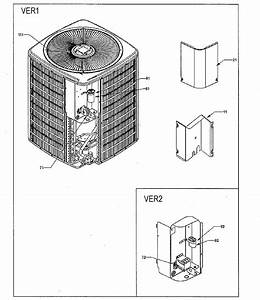 Goodman Model Gsc130481af Air Heat Pump