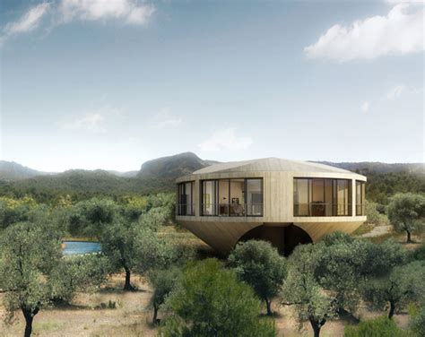 Panoramic Round House Has A 360-degree View Of The Spanish