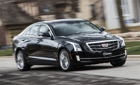cadillac ats sedan  awd test review car