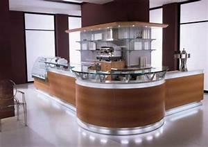 Bar De Maison : un bar plan de travail des id es pour l 39 utilisation efficace de l 39 espace dans la cuisine ~ Teatrodelosmanantiales.com Idées de Décoration
