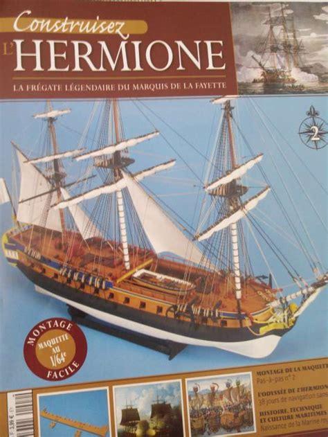 Hermione Bateau Hachette Collection by L Hermione Par Hachette Au 1 64 232 Me