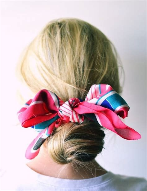 different hair bow styles 20 ways to dress up your low bun styles weekly