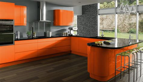 kitchen design orange cocinas de colores claves para su decoraci 243 n decoraci 243 n 1294