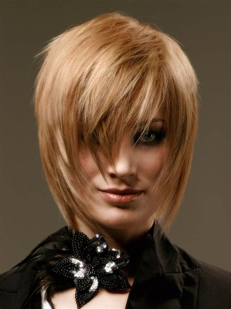 modern shag cut  sophistication  fashionable flair