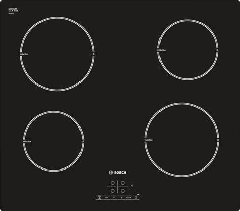 piano cottura induzione bosch pia611b68j piano cottura ad induzione 60 cm vetroceramica senza