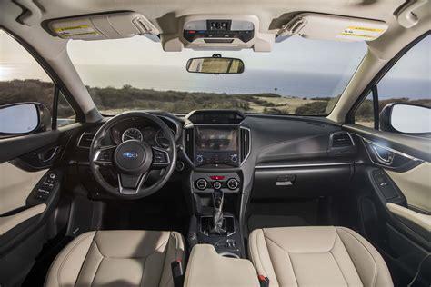 subaru interior all new 2017 subaru impreza bows in new york automobile