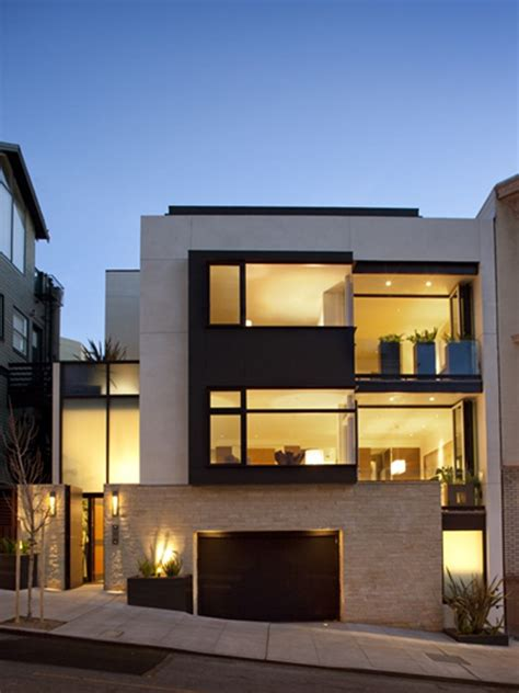 Contemporary Residence In San Francisco With City Skyline
