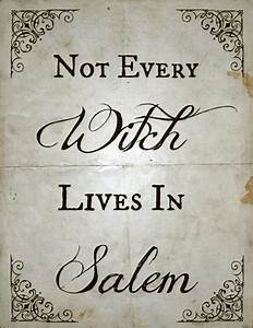 Not Every Witch... Width Quotes