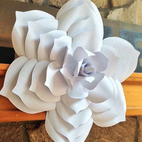 paper flower template diy paper flower paper flower
