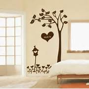 Wall Stickers Decoration Artistic Home Love Tree Decor Wall Art Sticker