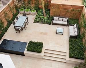 1001 conseils et idees pour amenager une terrasse zen With salon de jardin confortable et zen