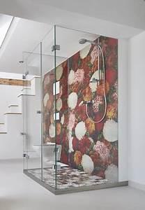 Wasserfeste Tapete Dusche : tapeten von wall deco auch wasserfest f r in die dusche modern badezimmer k ln von ~ Sanjose-hotels-ca.com Haus und Dekorationen