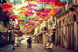 The Floating Umbrella Festival Agueda – Portugal | World ...