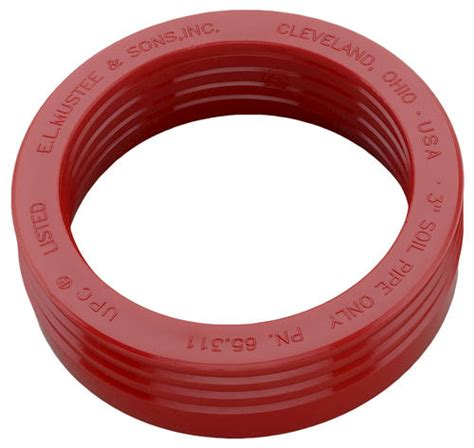 mustee mop sink gasket mustee 3 in drain seal for mop basin at menards 174