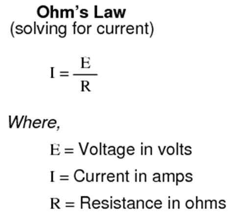ohms law basic concepts  test equipment