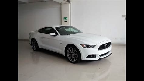 Ford Mustang Gt 5.0 2017, Galeria Color Blanco
